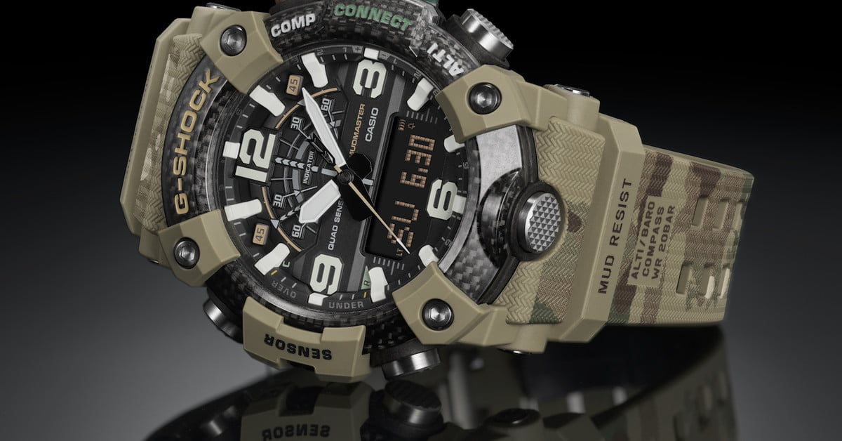 G-Shock and the British Army Release Limited-edition Mudmaster Watch | Digital Trends