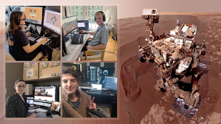 NASA Is Operating Its Mars Rover From Workers' Home Offices