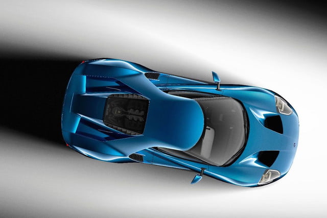 New Ford GT Overhead