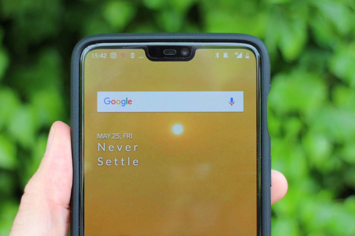 How To Hide The Notch On The Oneplus 6 Digital Trends