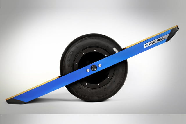 onewheel electric skateboard press image
