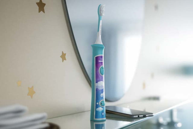 philips sonicare bluetooth toothbrush has a coaching app for kids connected 4