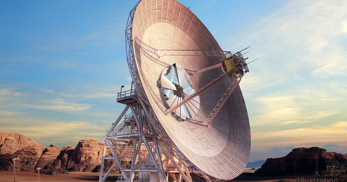 Nasa's New Antenna Dish Can Receive Laser Signals From Mars | Digital Trends