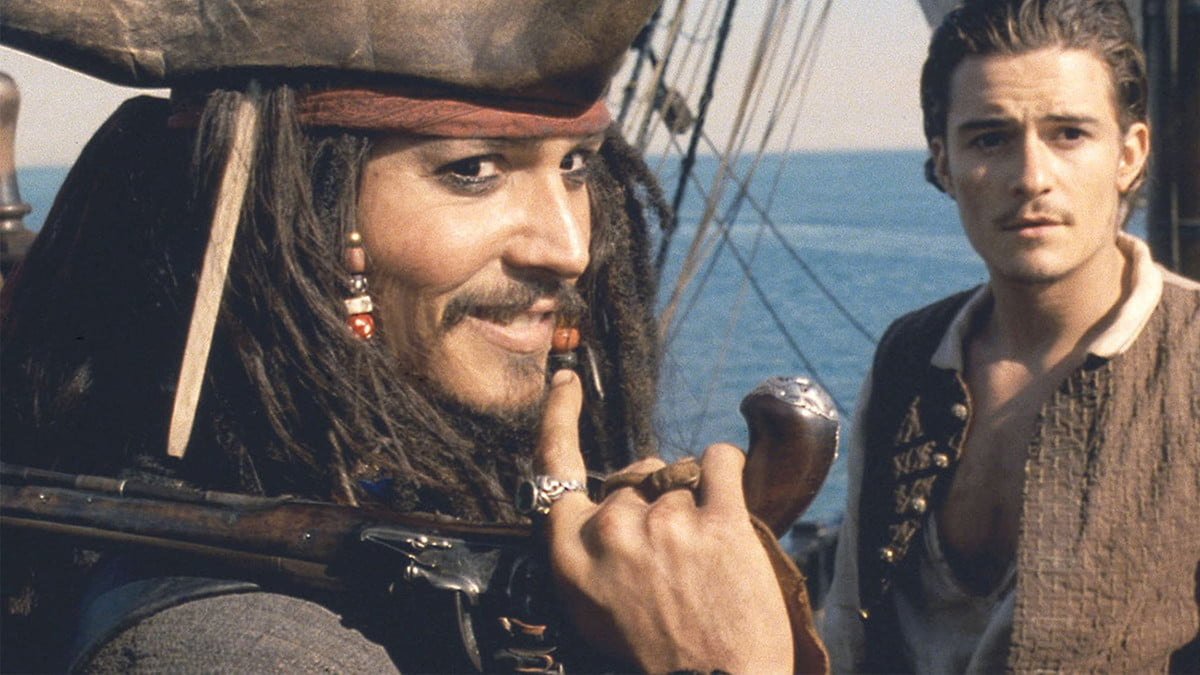 Pirates of the Caribbean the Curse of the Black Pearl on Disney+