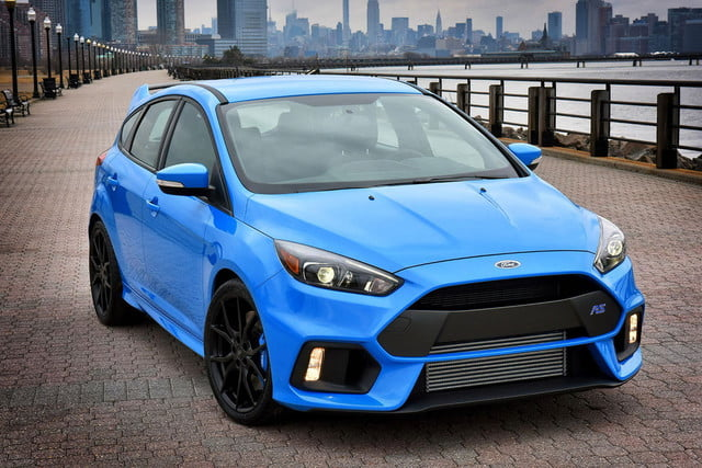 ford focus rs pricing performance specs news 2016