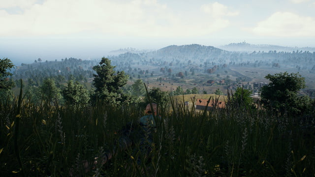 Playerunknown's Battlegrounds-Draw-Distance-Very Low