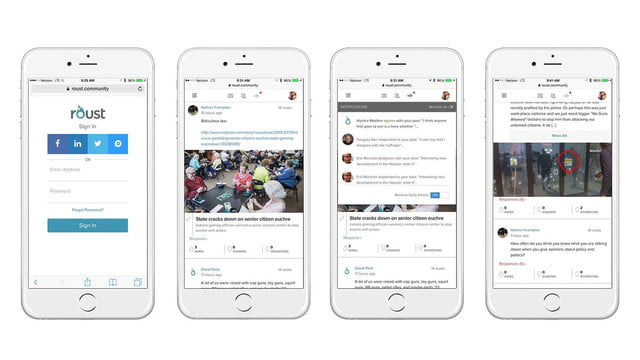 Roust Social Network Wants You To Discuss Politics | Digital