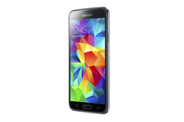 galaxy s5 makes debut samsung unpacked event mwc 2014 black 5
