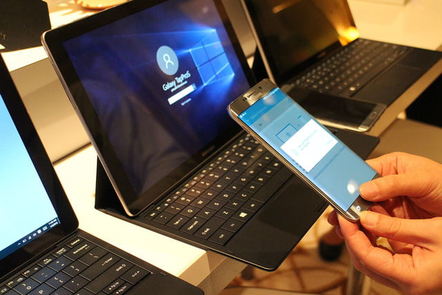 samsung tabpro s hands on ces 2016 galaxy 9791