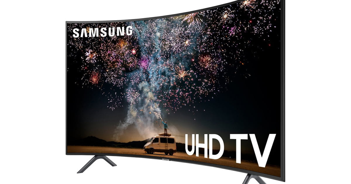Walmart Drops $152 Off the Samsung 55-Inch 4K Curved Smart TV