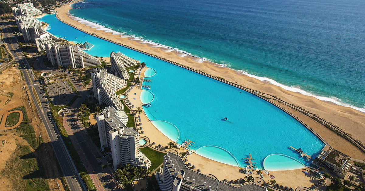The Largest Pools in the World, From Chile to France