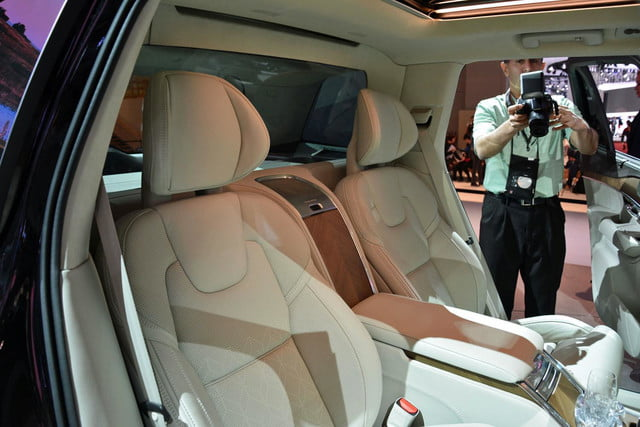 volvo lounge console concept pictures shanghai xc90 excellence 10