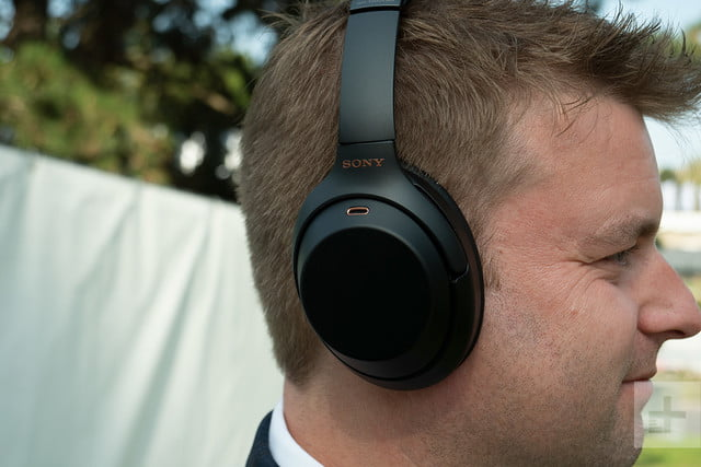 sony wh-1000x headphones right cup profile