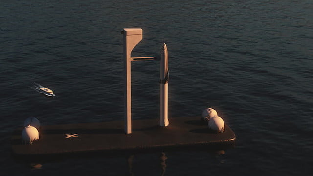 spacex to build floating spaceports for rocket launches ocean launch 2