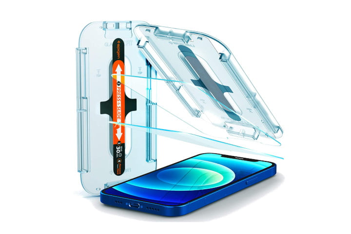 Spigen Tempered Glass Screen Protector for iPhone 12 Pro