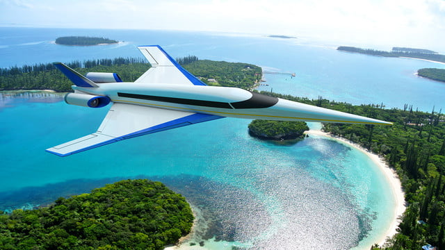 high speed concepts that could mark the return of supersonic travel spike s 512 beach 1