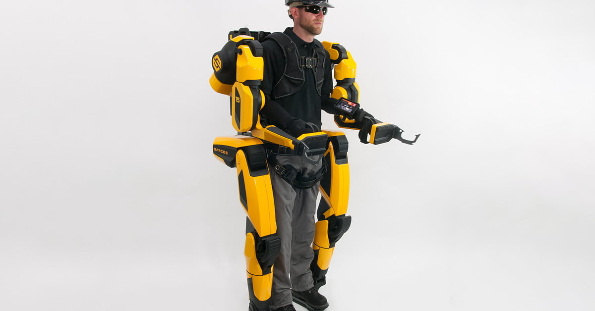 Guardian XO is an exoskeleton that allows you to lift over 200 pounds
