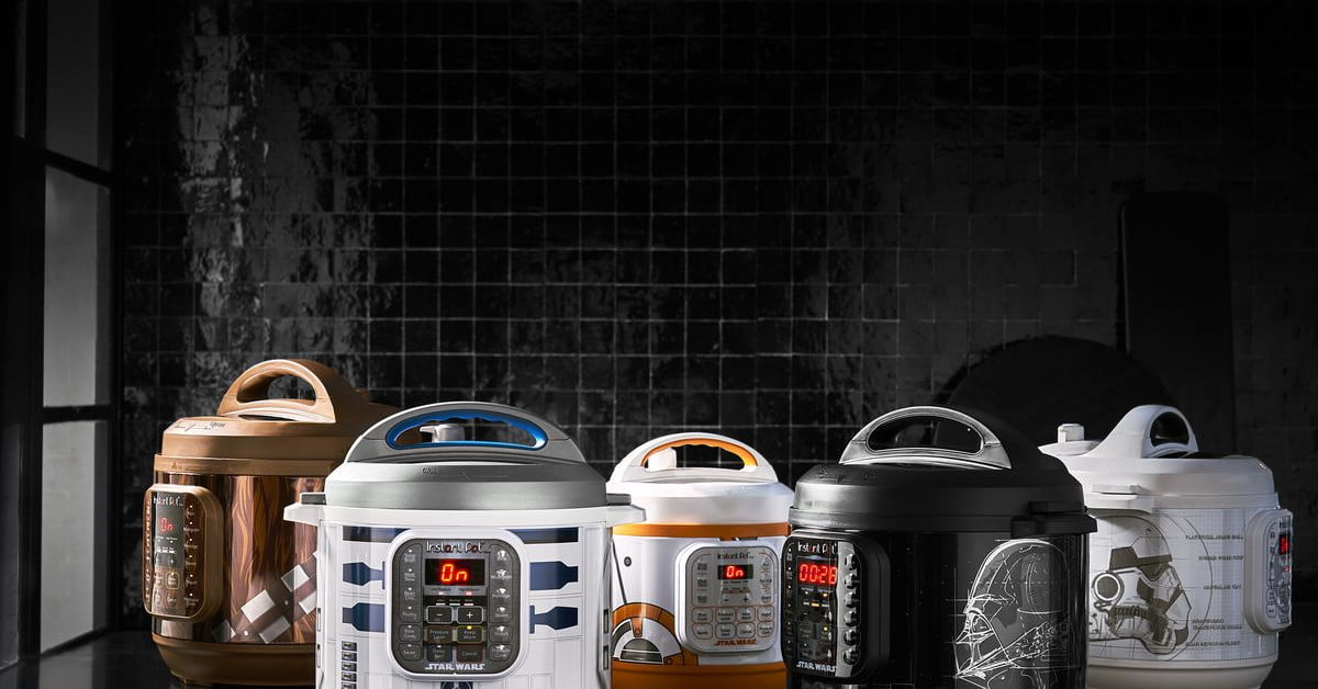 The R2-D2 Instant Pot Comes with Star Wars themed recipes