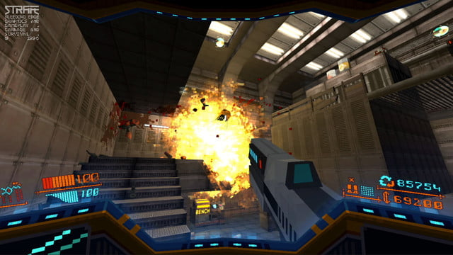 strafe ps4 hands on review screen 1