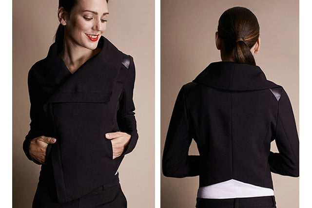unstainable workwear for women kickstarter sweat02