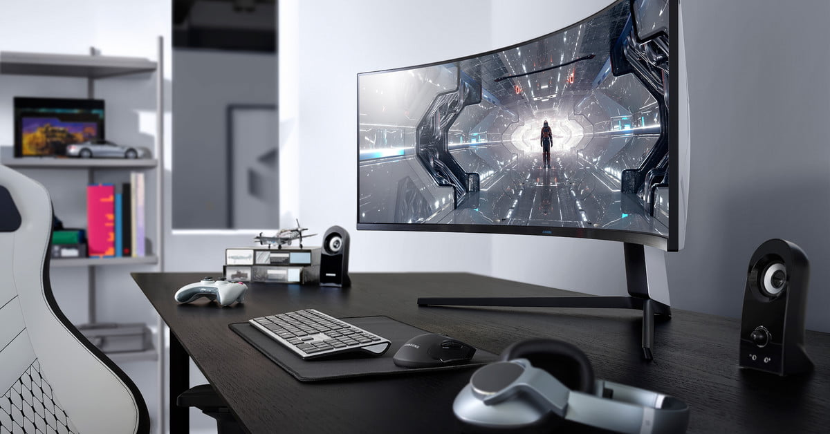 Samsung Launches Two Ultrawide Odyssey Gaming Monitors With Deeper Curves