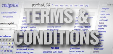 Terms & Conditions: Craigslist's bare-bones privacy policy