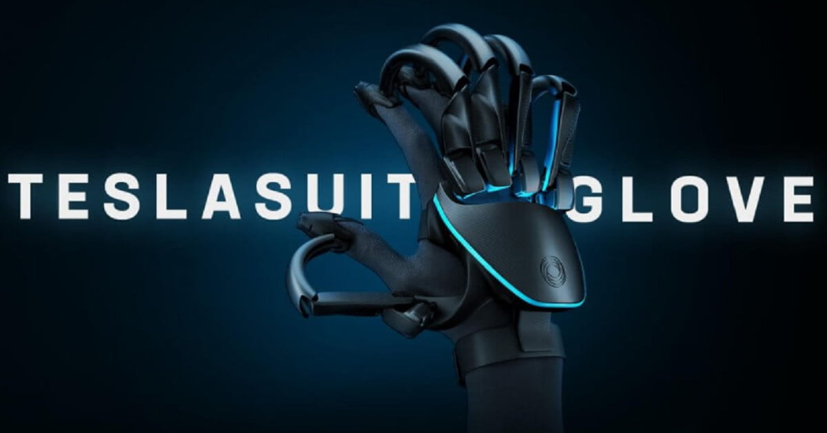 Teslasuit Glove allows users to feel textures in VR