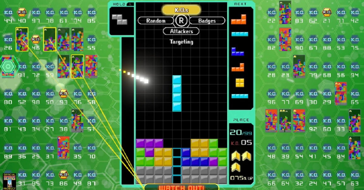 Tetris 99 Big Block DLC Adds CPU Battle, Marathon Modes for