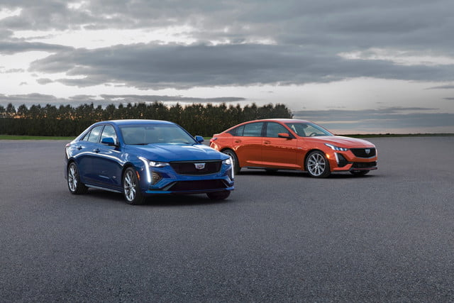 2020 Cadillac CT5-V and CT4-V