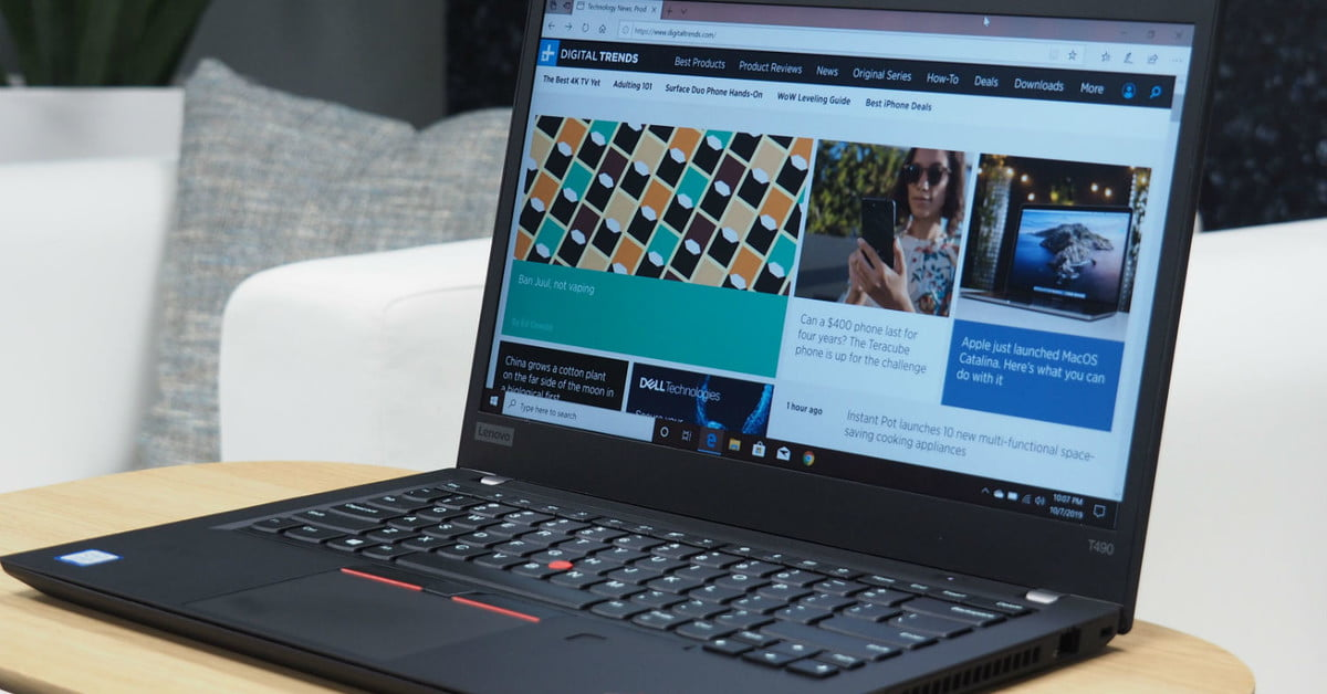 Lenovo ThinkPad T490 review: A classic workhorse