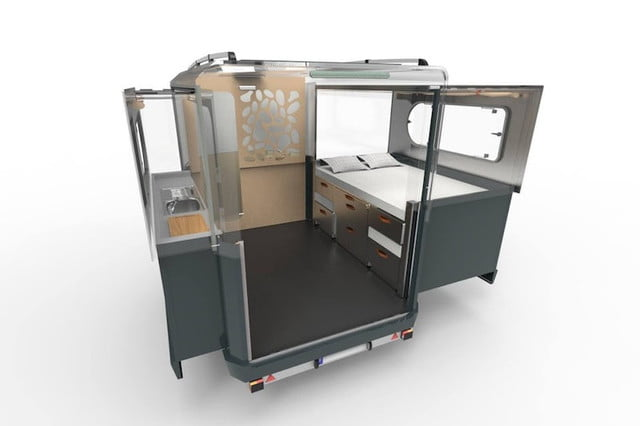 The Tipoon camping pod