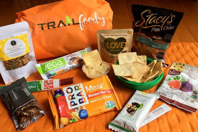 trailfoody subscription box outdoor snacks 2