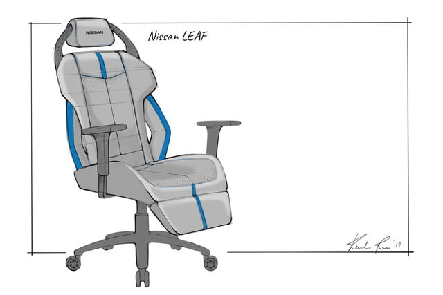 nissan designs gaming chairs based on gt r nismo leaf and armada chair