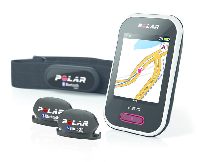 Polar, Strava, cycling