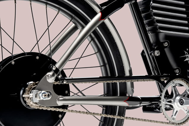 vintage electric readies roadster speed merchant souped up ebike bikes wheel chain graphic