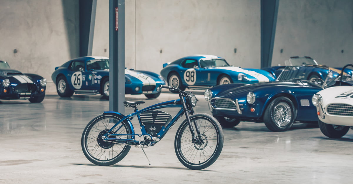 Vintage Electric honors Shelby with limited-edition e-bike