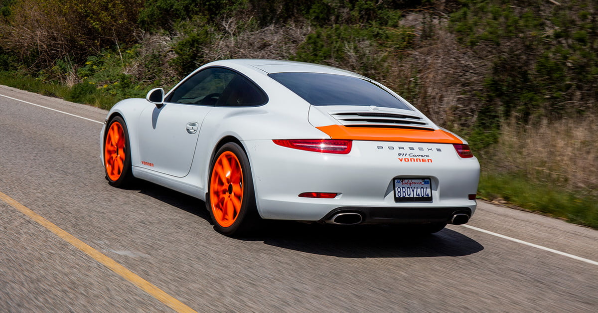 Vonnen can make you a 911 Hybrid before Porsche can