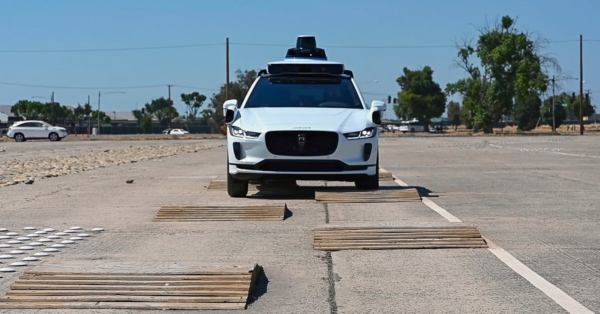 Lockdown couldn't keep Waymo from testing self-driving cars … in a fake city