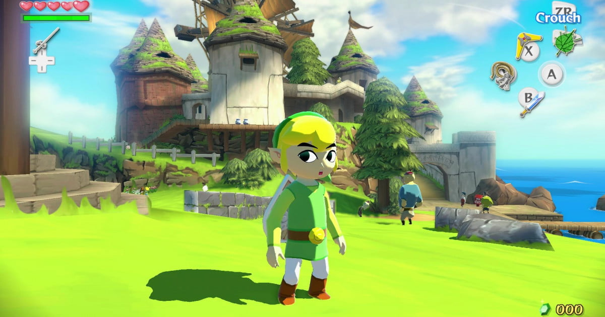 The Legend of Zelda: The Wind Waker,' one of the best Wii U