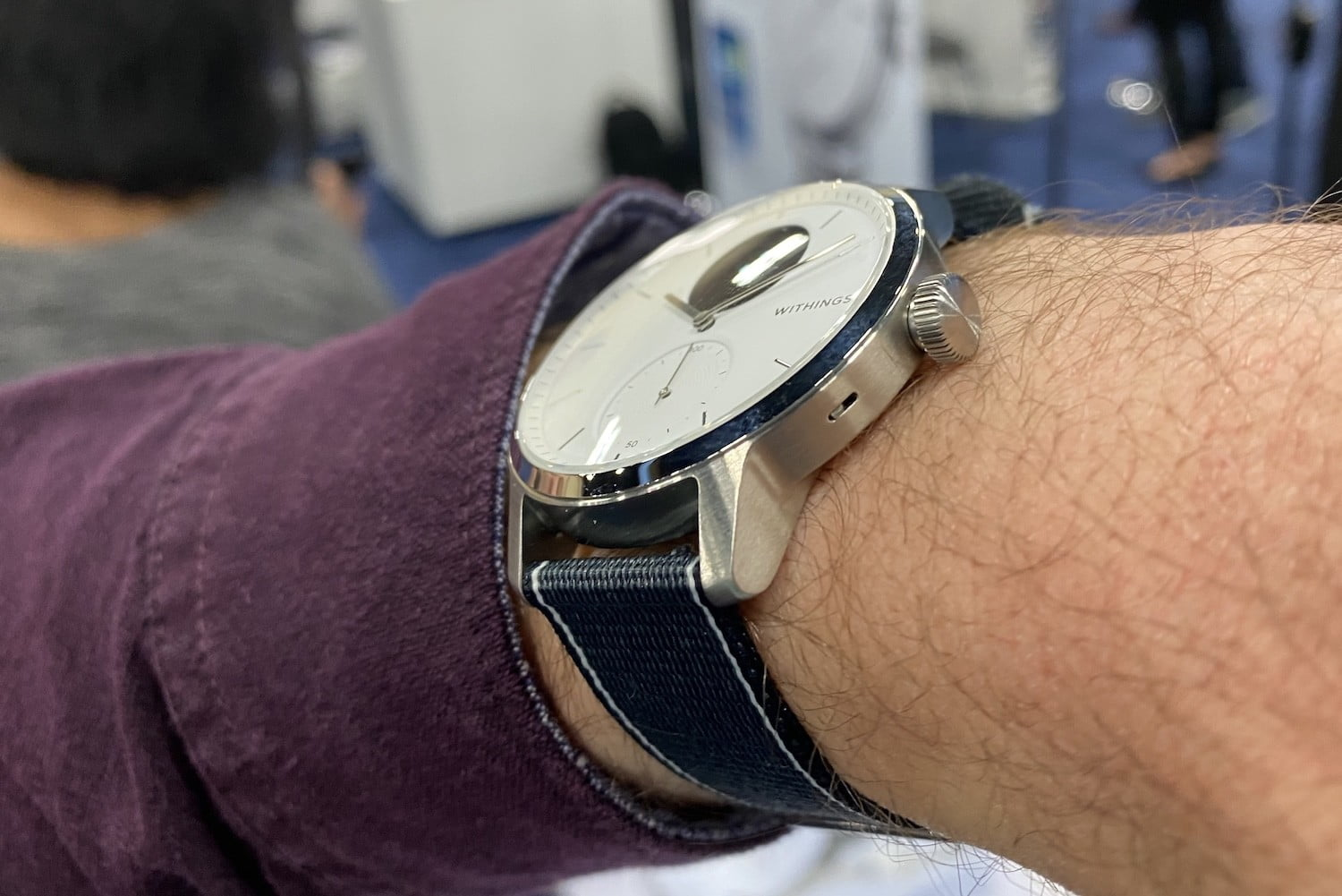 Withings New Scanwatch Hybrid Smartwatch Helps Detect