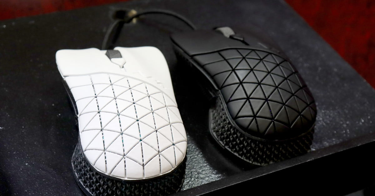 XPG Headshot 4D printed gaming mouse is custom built to match its user's hand