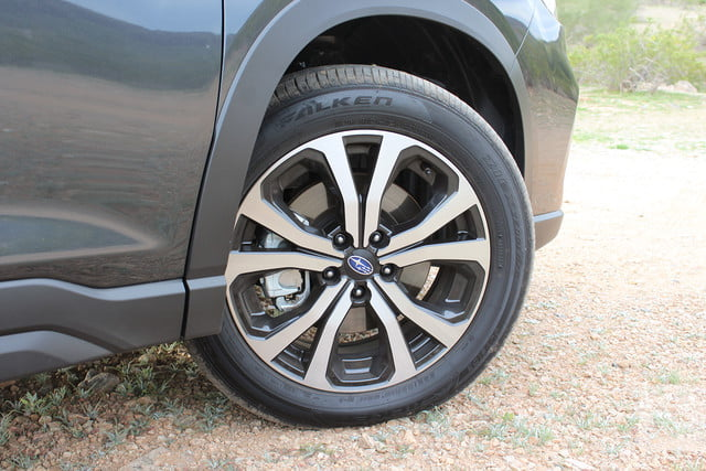 subaru forester modelo 2019 revision review right tire