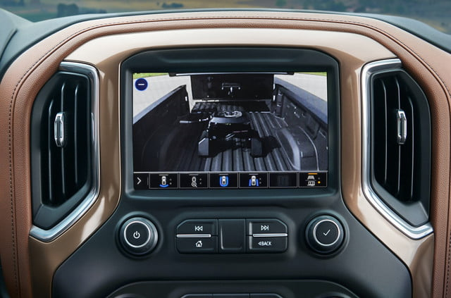 chevrolet silverado tecnologia remolque 2021 hd cargo bed view enhancement
