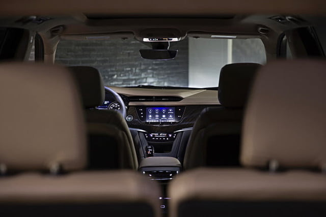 cadillac xt6 2020 salon detroit 2019 xt6s hd 8 inch siagonal screen is now even easier to use with the new jog function a fir
