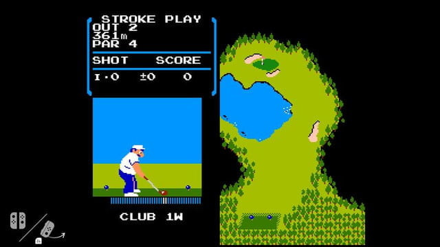 nintendo switch golf nes golf2