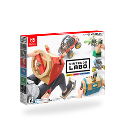 Nintendo Switch Labo Toy-Con Vehicle Kit