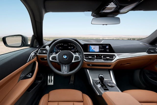 Interior de BMW 430i Coupé