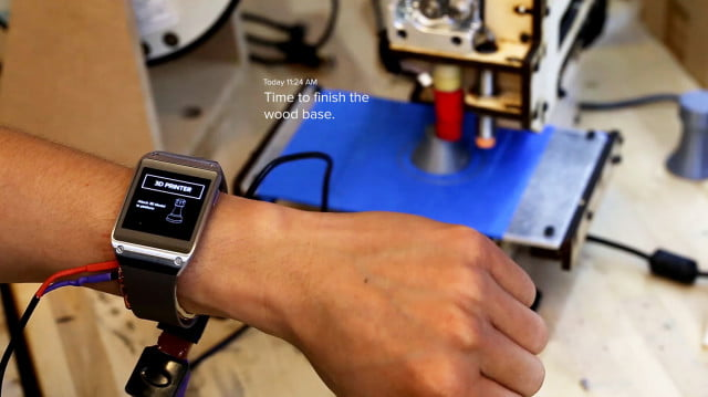 em sense smart watch wearable customizes experience identifies objects disney emsense 3dprinter