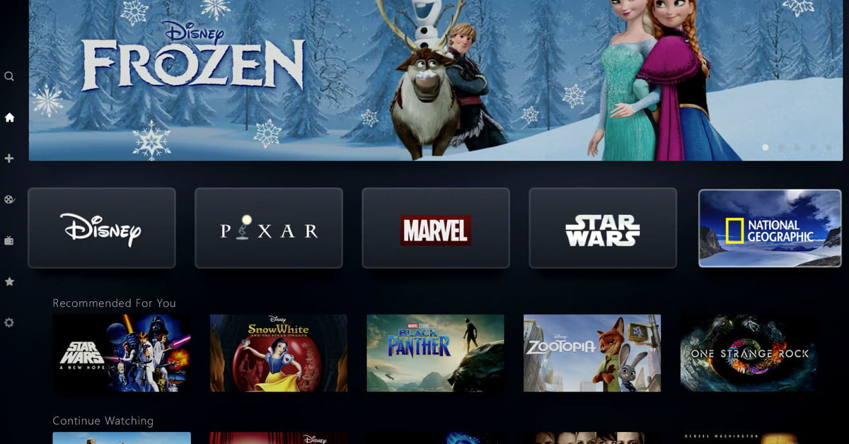 Disney Plus Everything We Know About Disney S Streaming Service Digital Trends