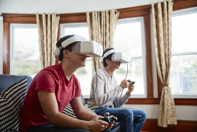 dji goggles launched  living room